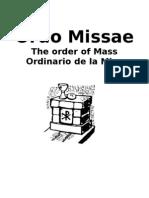 Ordinario de la Misa (trilingüe)