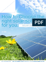 Miro Solar Panel Guide 2012