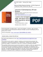 Paper J. Abbink 2011 in JCAS (on LSLAs)
