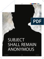 Subject Shall Remain Anonymous E-catalogue