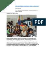 Fotos CONAMAQ en  IX Marcha Indígena