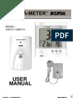 CM113CMR113 Manual