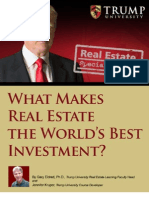 What Makes Real Estate the Worlds Best Investment-Donald Trump
