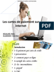 Les Cartes de Paiement Sur Internet