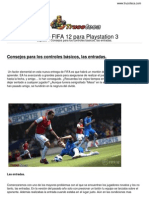 Guia Trucoteca Fifa 12 Play Station 3