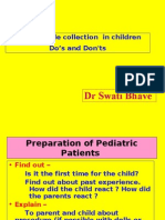Blood Sample Collection in Children