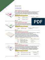 характеристики бумаги для печати