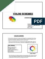 Color Schemes Final