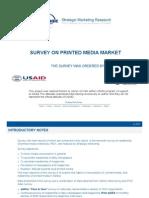 Survey on Printed Media Market, June 2008