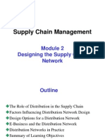 Module 2- Designing the Supply Chain Network