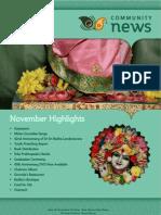 ISKCON London (UK)-2011.11-November Newsletter