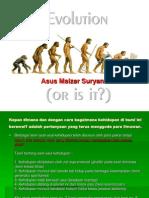 3. Evolusi (as) FRANS