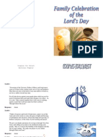 Lords Day Celebration Booklet