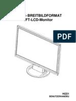 Hanns.G HI221 DE Manual