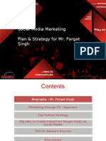 SM Strategy for Pargat Singh- By Wizcraft