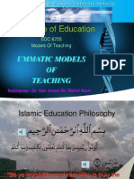 UMMATIC MODELS OF TEACHING