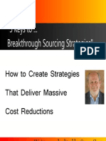 5 Keys to Sourcing Strategies