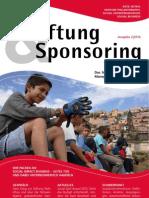 Stiftung und Sponsoring Artikel 2012-02