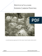 Book of Modern Carbon Printing by Sullivan