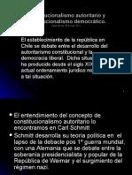 constitucionalismo chileno