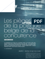La compétitivité belge