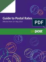 Postal Rates 2010