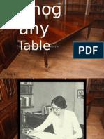 The Mahogany Table