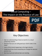 Cloud Computing Impact of Practicing Law 4312
