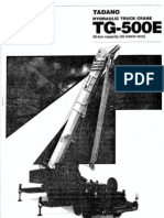 TG500E-3 50T Load Chart