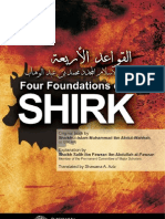 Four Foundations of Shirk