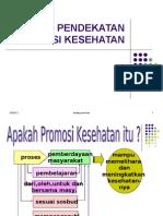 pendekatan promosi kesehatan