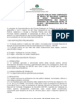 Edital Selecao Nufor Prog e Projetos Final