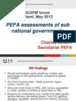Sub National Evaluation PEFAsecretariat En