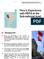 PEFA Sub National Sanmartin Peru En