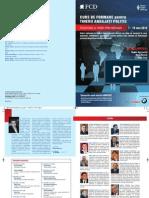Broșură Cursuri - Diplomație și Relații Internaționale, Cluj, 7-18 mai 2012