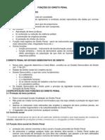 FUNÇÕES DO DIREITO PENAL