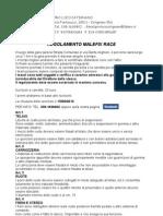 Regolamento Ufficiale Malefix Race I Edizione 2012