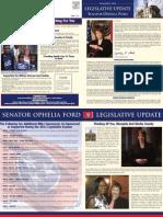 Senator Ophelia Ford's Summer 2011 Legislative Update