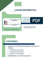 03 ion a - ion y Normatividad Relativa Al Usuario