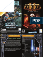 Star Wars - Knights of the Old Republic II - Manual - PC