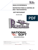 Soft Restaurant 6.0 - Manual de Refer en CIA