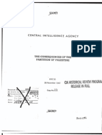CIA Report on Partition of Palestine