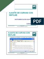 Ajuste de Curvas Con Matlab