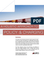 Alepo White Paper - A Holistic Approach to Policy & Charging 2012
