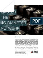 Alepo White Paper - Master the 4G Diameter Core Network 2012