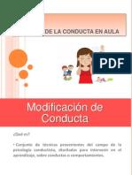 Taller Manejo Conducta Para Docentes