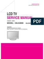 Lg 32lg3000 Chassis Ld84a Lcd Tv Sm