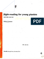 Philip Cranmer - Sight-Reading for Younger Pianists