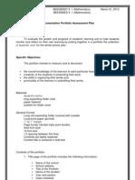 Super Final Portfolio Asst Plan
