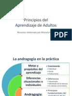 Principios de Aprendizaje de Adultos